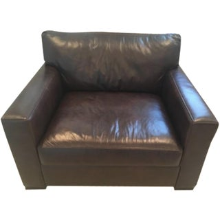 Crate & Barrel Axis II Leather Chair