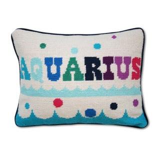 Aquarius Zodiac Pillow