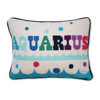 Aquarius Zodiac Pillow