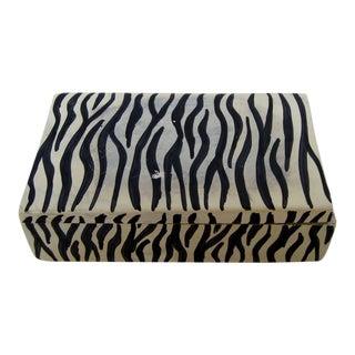 African Soapstone Lidded Box