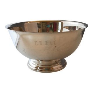 Towle Silverplate Revere Bowl