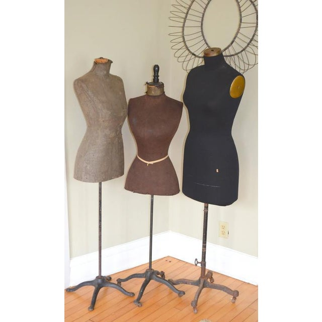 Mid-Century Adjustable Seamstress Dress Forms - Set of 3 - Image 9 of 10