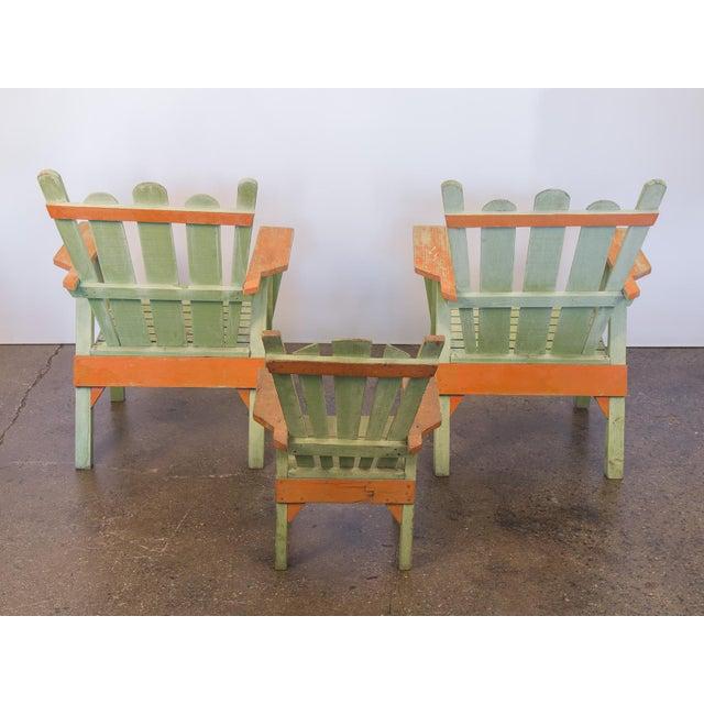 Family Set of Adirondack Chairs - Image 5 of 11