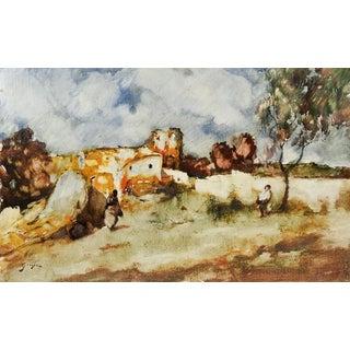 Giner Impressionist Spanish Painting