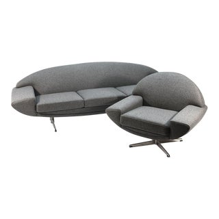 Johannes Andersen 'Capri' Sofa and Chair - A Pair