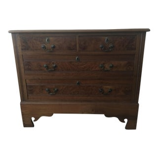 Old English Walnut Chest