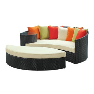Taiji Outdoor Daybed with Ottoman