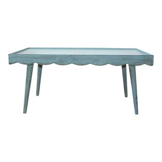 Shabby Coastal Coffee Table