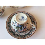 """Image of Booths """"Old Dutch"""" Cup & Saucers - Set of 4"""