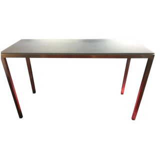 Crate & Barrel Parsons Bar Table