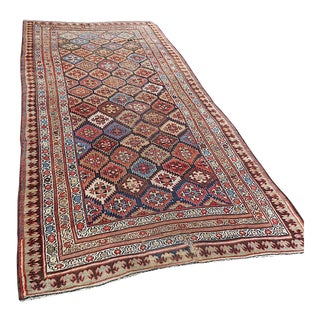 "Antique Persian Kurdish Tribal Rug - 5'1"" x 10'10"""