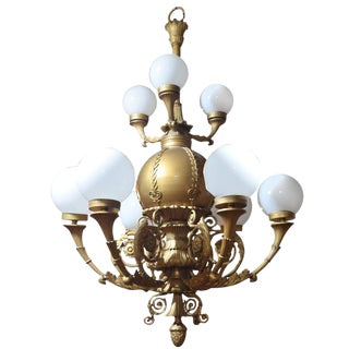 Chandelier from the Marbro Theater, Chicago