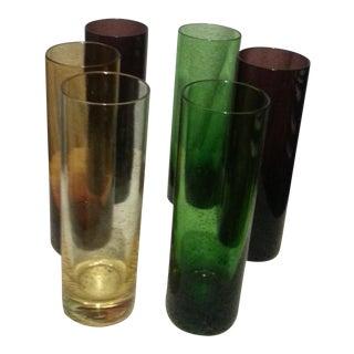 Vintage Bar Glasses- Set of 6