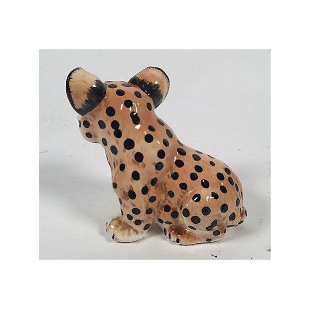 Image of Ceramic Leopard Cub