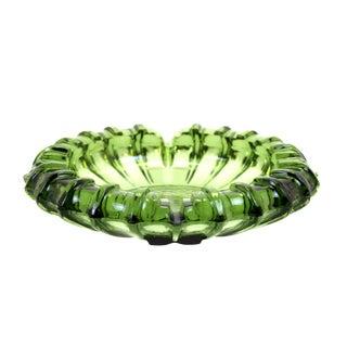 Botella Green Blenko Ashtray