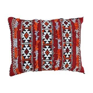 Diamonds & Stripes Moroccan Pillow
