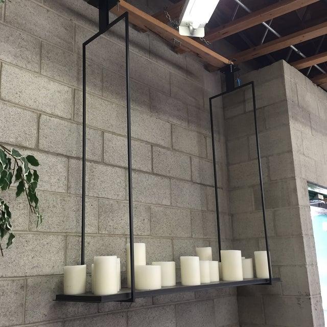 "Holly Hunt ""Altar"" Hanging Light - Image 3 of 9"