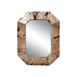 Mother of Pearl Beveled Picture Frame