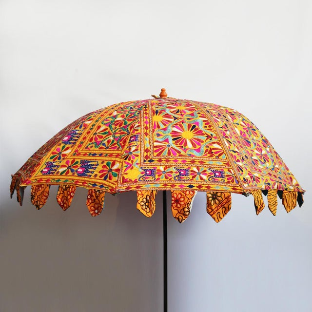 Embroidery & Mirror Work Umbrella - Image 3 of 5