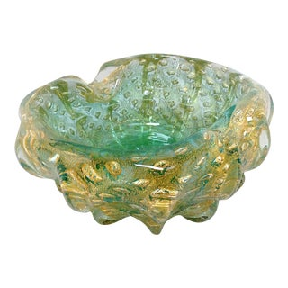Vintage Murano Glass Ashtray
