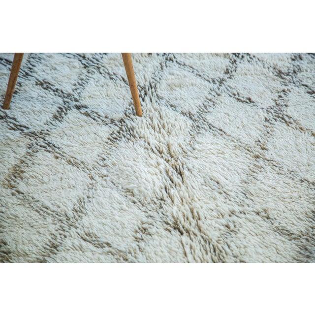 "Vintage Moroccan Carpet - 6'4"" x 10' - Image 5 of 6"