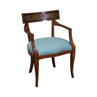 Custom Regency Style Armchair