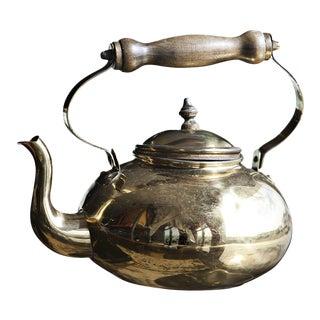 Vintage Brass Teapot Tea Kettle