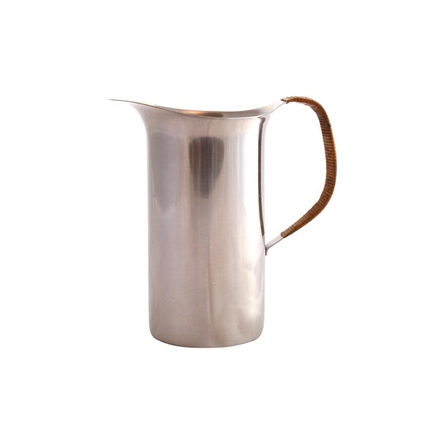 Vintage Danish Stainless Pitcher - Image 1 of 6