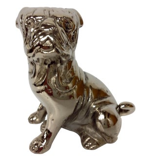 1930s Chromed English Bulldog