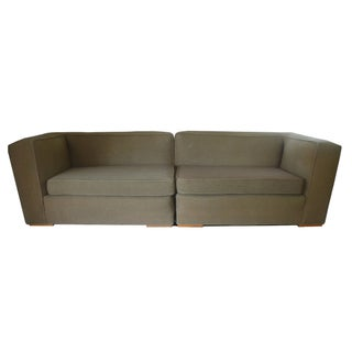 Modern Paul Frankl Style Sofa