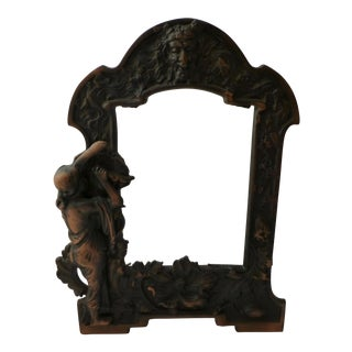 Art Nouveau Copper Picture Frame Reproduction