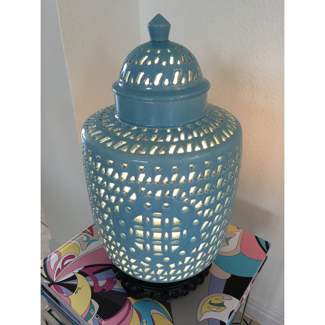 1950s Blanc De Chine Jar Lamp - Image 7 of 10