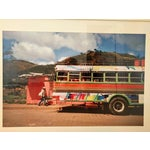 Image of Framed Nicaraguan Painted Bus Photograph