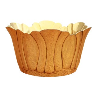 Vintage Brass Champagne or Wine Bottle Coaster