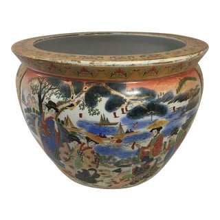 Antique Chinese Porcelain Planter