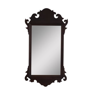 Virginia Metalcrafters Mahogany Chippendale Mirror