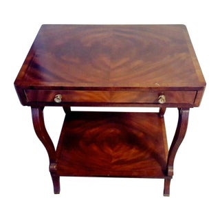 Vintage Maitland Smith End Table