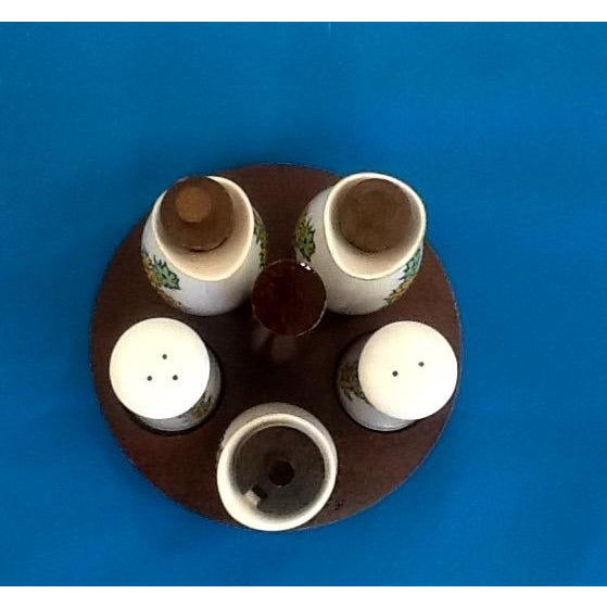 Image of Mid-Century Atomic Style Oil & Vinegar Set
