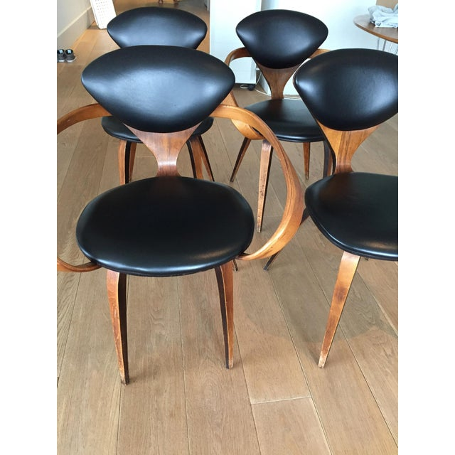 Norman Cherner Antique Chairs - Set of 4 - Image 11 of 11