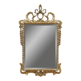 Traditional Louis XVI-style Giltwood Wall Mirror