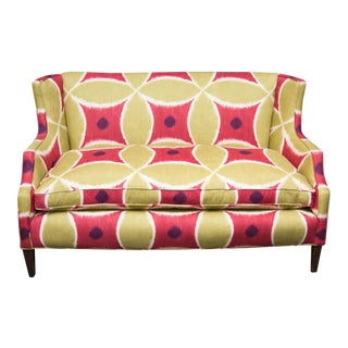 Custom Upholstered Down-Filled Loveseat
