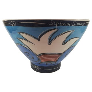 Australian Art Pottery Bowl, Made in Sydney