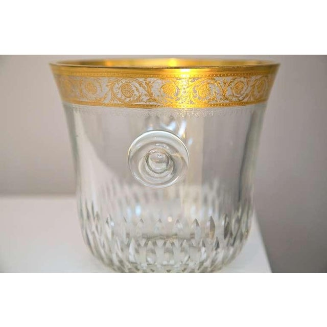 Saint-Louis Thistle Crystal Ice Bucket - Image 4 of 6
