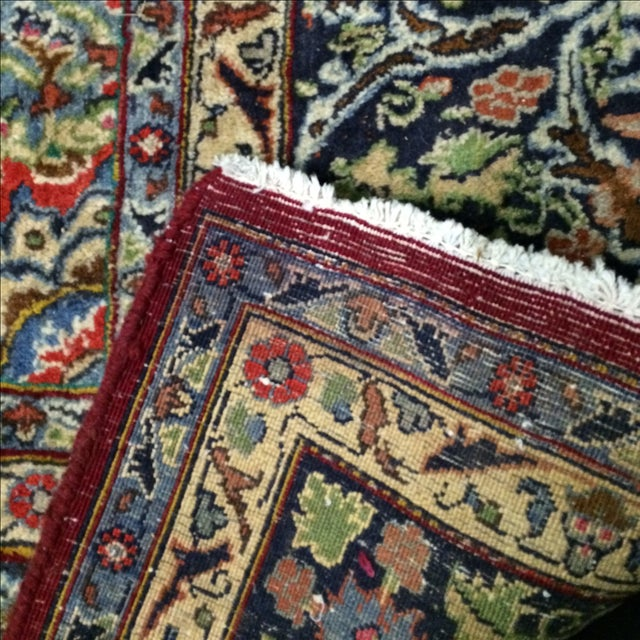Large Traditional Persian Rug - 12′4″ × 9′6″ - Image 10 of 11
