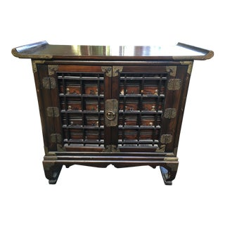 Vintage Korean Apothecary Chest