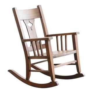 Craftsman Era Child's Rocking Chair