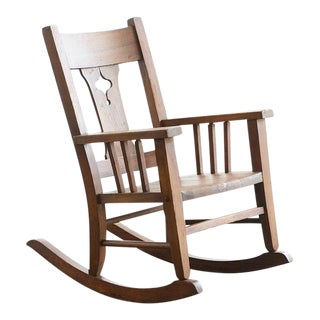 Craftsman Era Child's Rocking Chair