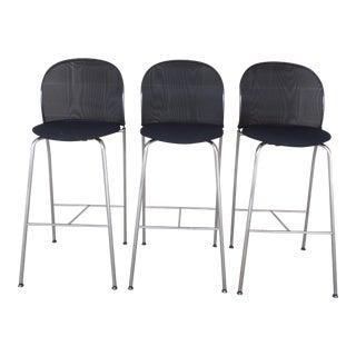 Christoph Hindermann Design for Davis Furniture Modern Bar Stools - Set of 3