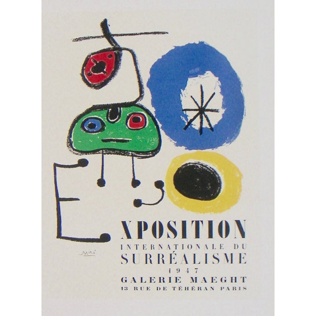 Image of Miro Exhibition Poster
