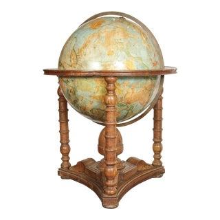 Grand, 19th Century Painted Globe